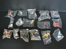 Lot of Sixteen (16) Vintage Disney Miniatures by Marx sealed in ORIGINAL BAG