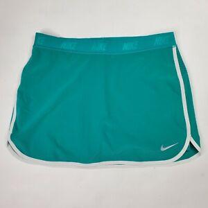 NikeFringe Flip Golf Skort 744813-352 Golf Skort Teal Blue Green Womens medium