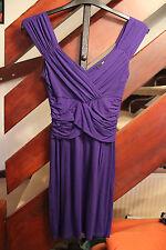 Purple bodycon mini dress Jane Norman size 8
