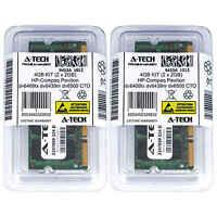 4GB KIT 2 x 2GB HP Compaq Pavilion dv6409tx dv6439nr dv6500 CTO Ram Memory