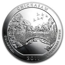 2011 5 oz Silver ATB Coin Chickasaw, OK - America the Beautiful - SKU #62511