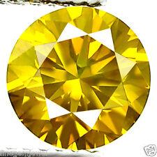 1.02ct HUGE DAZZLING VIVID INTENSE FANCY YELLOW DIAMOND VS! EARTH MINED DIAMOND!