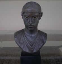Charioteer of Delphi Bust - Bronze Color Effect - Ancient Greece