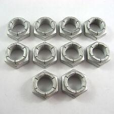 """1/2""""-20 UNF THIN FLEXLOC STEEL LOCKNUT 10 PK, Sprintcar Wingless Sprint Nuts"""