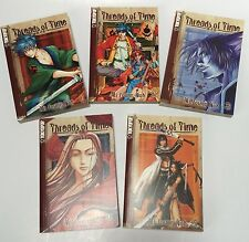 Threads Of Time Lot Volumes 1 2 3 4 5 Manga Action Books Mi Young Noh Tokyopop