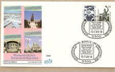 5300 bonn 12 sello especial 1989 parlamentario Consejo loebe Reuter suhr emperador