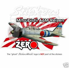 Mitsubishi ZERO Japan WWII Pearl Harbour, Sticker Decal