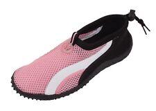 Women's Athletic Mesh Pool Beach Water Shoes Aqua Socks Multiple Styles