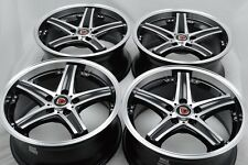 17 Drift Wheels Rims ILX TLX Avenger MKZ Escape CX3 Fusion Element Pilot 5x114.3