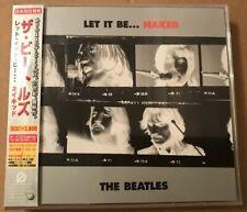 The Beatles - Let It Be Naked Japanese 2 x Cd Album OBI Strip + Lyric Booklet