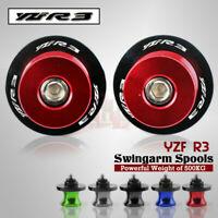 Motorcycle Swingarm Spools Sliders Bobbins For YAMAHA YZF R3 YZF-R25 MT25 MT03