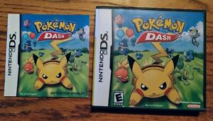 Nintendo DS Pokemon Dash (Case, Artwork, and Instruction Booklet Only, No Game)