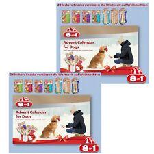 8in1 Adventskalender für Hunde  2x Doppelpack   24 Std.Ver.