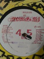 """Diamonds- I Don't Mind What You Are Saying / Know Your Culture 12"""" Vinyl Single"""