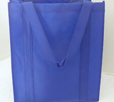 Reusable GROCERY BAG - ROYAL BLUE - Large Size Recyclable Shopping Tote