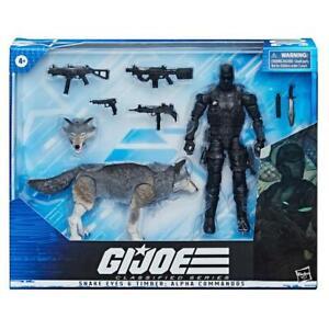 "GI Joe Classified Series 6"" Snake Eyes & Timber: Alpha Commandos New PRE-ORDER"