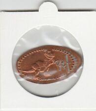 Pressed Pennies Elongated Penny - Disney - Rex (a077)