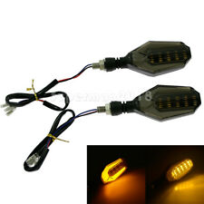 Motorcycle Turn Signals Amber Runing Light Indicator Light Blinker LED Direction
