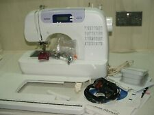 BROTHER  computerized sewing machine BC-2100. SERVICED. EXCELLENT CONDITION.