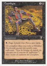 MAGIC MTG - CUPIDIGIA -  RARA - ORO - ITALIANO - BORDO BIANCO