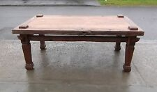 ANTIQUE HAND MADE INDONESIAN WEAVING KITCHEN / DINING TABLE   DELIVERY AVAILABLE