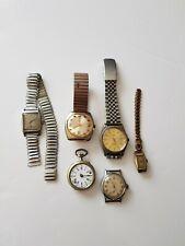 Lot montres anciennes et vintages ( Maty etc ... )