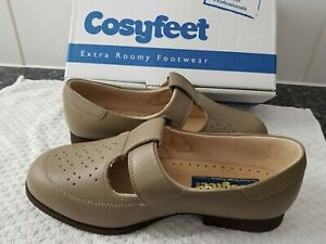 BN COSYFEET CATHERINE EXTRA ROOMY WIDE FIT ADJUSTABLE SHOE SIZE UK 5.5  £69