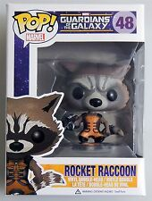 ESL4631 ROCKET RACCOON POP MARVEL Guardians of the Galaxy Vinyl FIGURE #48 FUNKO