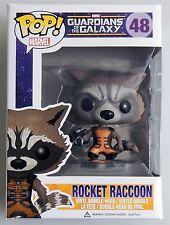 ESL4631 ROCKET RACCOON POP MARVEL Guardians of the Galaxy Vinyl FIGURE #48 FUNKO