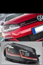 VW GOLF MK7.5 GTI Style FULL LED HEADLIGHT Conversion For Halogen Headlight Pair