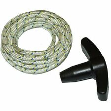 Pull Handle & 3 Metres Of Starter Rope Cord Fits Honda Izy Lawnmowers