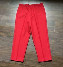 Women's Plus Size 20 Red Dressy Pants
