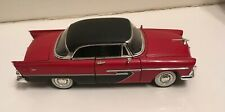 Vintage Die Cast 1956 Plymouth Red And Black 2 Tone Doors, Hood And Trunk Open