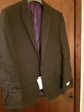 Daniel Hechter Peak Wool Dinner Jacket, Black  - BNWT UK Size 44R RRP £200