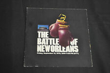 ABC ADVERTISERS GUIDE THE BATTLE OF NEW ORLEANS ALI VS. SPINKS! FINE RARE!