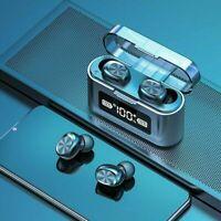 TWS Wireless Earphones Bluetooth 5.0 Headset Mini Earbuds Stereo Dual Headphones