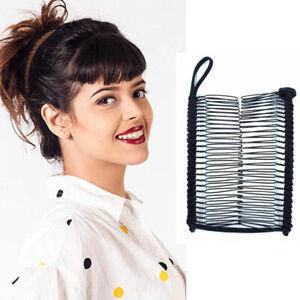Fashion Women's Magic Banana Hair Comb Clip Slide Pins Hair Accessories EZ Clips