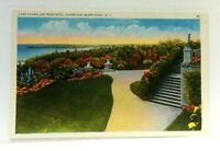 Bluff Point New York Lake Champlain From Hotel Champlain Vintage Postcard