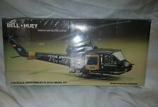 Vintage NIB sealed Lindberg Bell Huey German airforce helicopter 1/48 scale