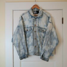 VTG NIKE DENIM JEAN TRUCKER JACKET For FRIENDS Show Seinfeld PROMO ONLY XL Dyed