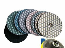 18cm Diamond Polishing Pad 32+1 Piece stone fabrication floor concrete buffing