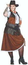 Rubies 13465 - Cowgirl Full Cut, Plus Size Damen Kostüm Gr. 42 - 54
