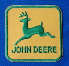 JOHN DEERE FARMER FARMING TRACTOR SEW ON IRON ON CAP SHIRT PATCH BADGE DEER DEAR