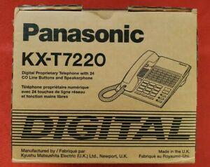 Panasonic KX-T7220 White Phone 24 Lines Speakerphone Digital Super Hybrid NEW!!