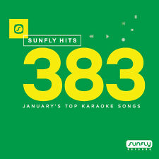 Sunfly Karaoke Hits SF383 January 2018 (CDG) Official Sunfly - Free UK Post