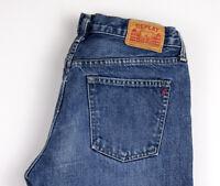 Replay Damen Slim Gerade Jeans Größe W30 L32 AOZ464