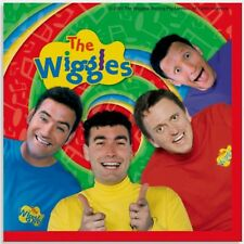 The Wiggles Birthday Party Supplies Nakins 10 x 10 New Factory Sealed 2003 16ct