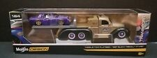 MAISTO DESIGN TRANSPORT MISSILE TOW FLATBED / 1987 BUICK REGAL T-TYPE NEW