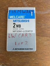 SRAM Card 2MB Melcard Mitsubishi PCMCIA (2nd Of 2 Available) - Eventide, TC etc