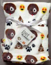 Emoji Pet Super Plush Fleece Blanket Super Soft Brand New